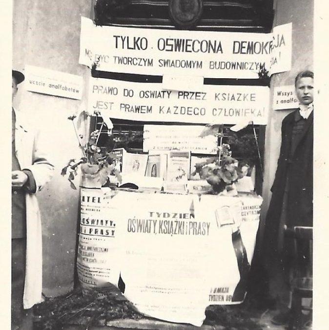 Promocja książki i czytelnictwa w pierwszych latach powojennych