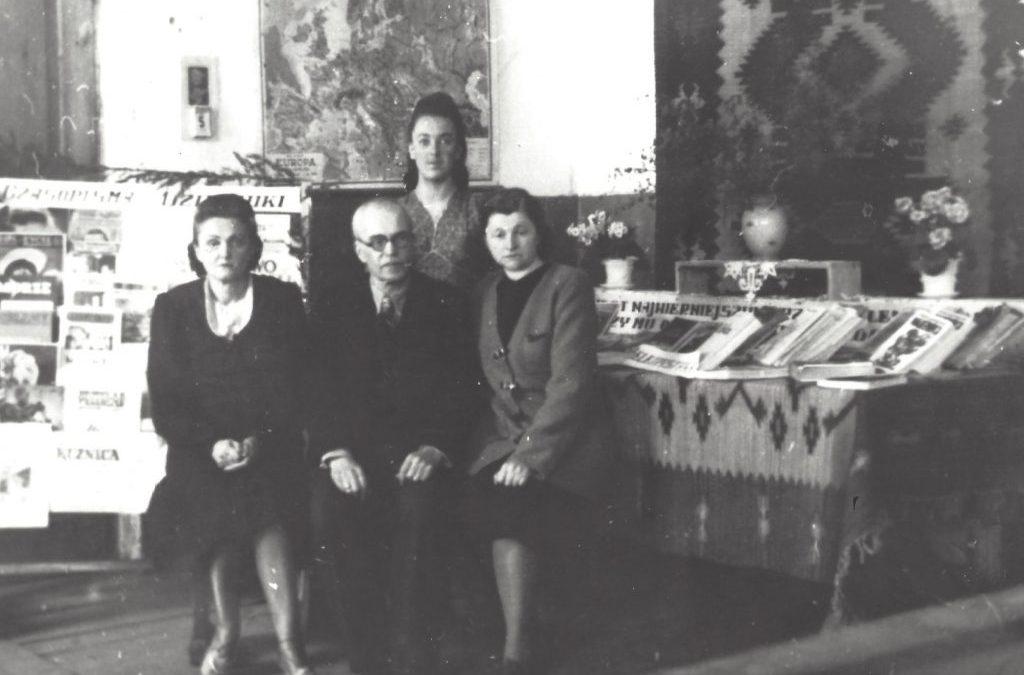 Pierwsi pracownicy biblioteki