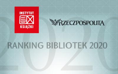 Biblioteka w Podgórzu piąta w Rankingu Bibliotek 2020