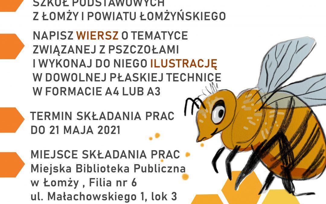 Wesoła pszczoła – konkurs plastyczno-literacki