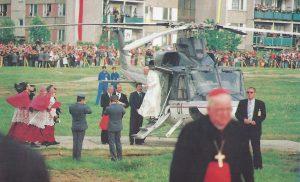 Jan Paweł II w Łomży (30. rocznica)